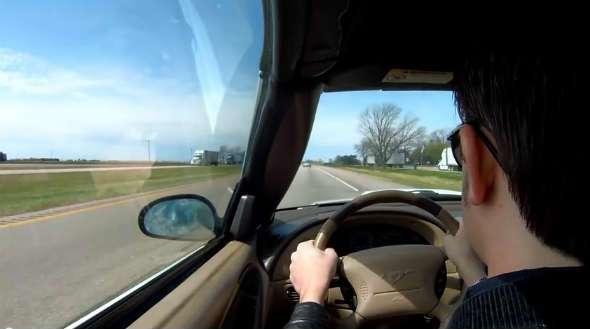 cómo afecta la visión en la conducción