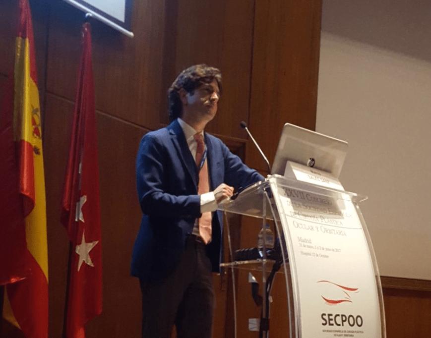 El Dr. Marco Sales ha participado en el Congreso de la Sociedad Española de Cirugía Plástica Ocular y Orbitaria, SECPOO, con varias ponencias