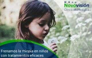 Frenar miopía en niños