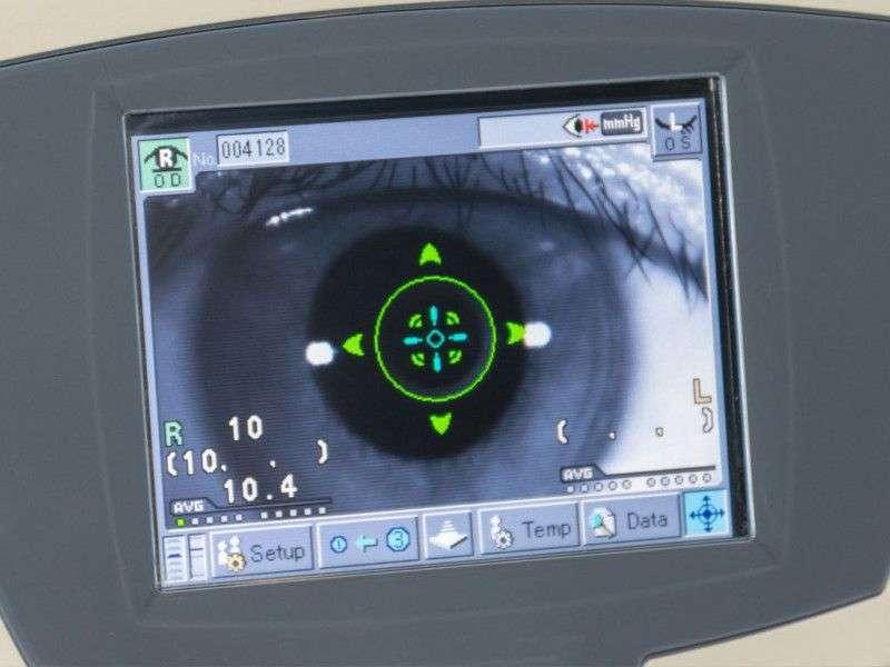 biómetro óptico